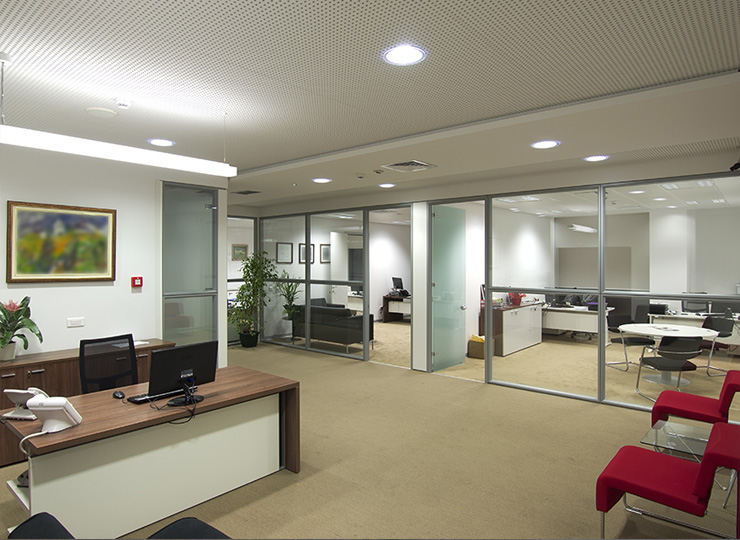 Office fit out and refurbishment cheltenham for Office interior fit out